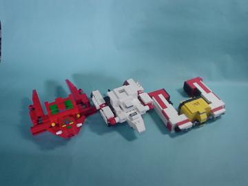LEGO/GetterRobo
