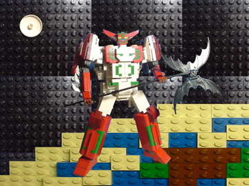 LEGO/Shin-GetterRobo